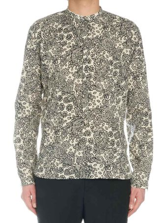 DNL 'paisley Leaves' Shirt