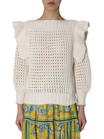 Philosophy di Lorenzo Serafini Perforated Sweater