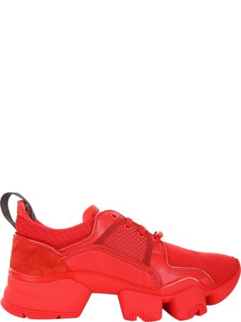 Givenchy Red Jaw Sneakers Low