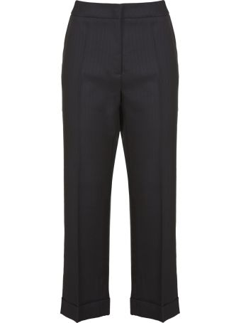 Essentiel Pinstriped Trousers
