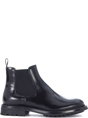 Church's Genie Black Leather Ankle Boots