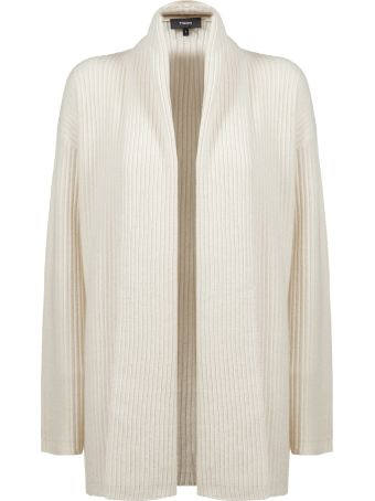 Theory Ribbed Knit Cardigan