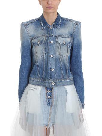 Ben Taverniti Unravel Project Blue Denim Jackets
