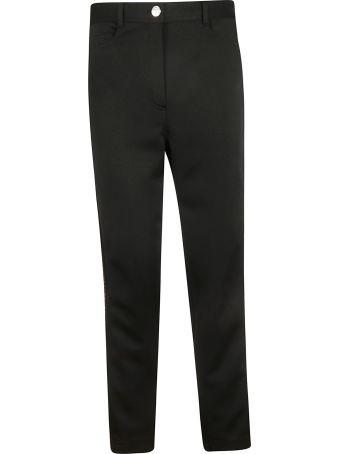 Fendi Ff Logo Stripe Trousers