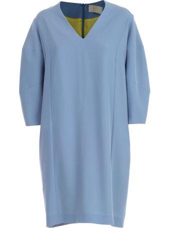 Sara Battaglia Belted Dress
