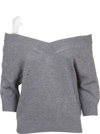 RED Valentino Embellished Sweater