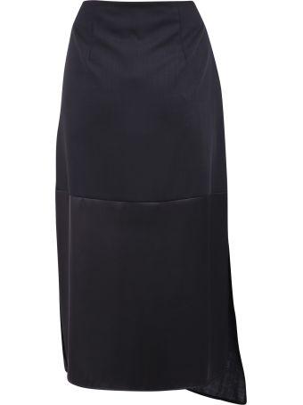 McQ Alexander McQueen Asymmetric Skirt