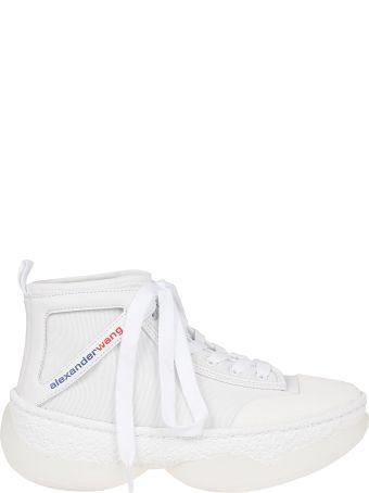 Alexander Wang Logo Hi-top Sneakers