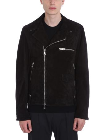 Low Brand Black Suede Jacket