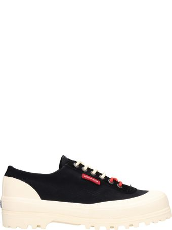 Superga Black Fabric Superga X Paura Alpina Sneakers