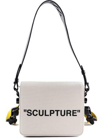 Off-White Logo Print Shoulder Bag