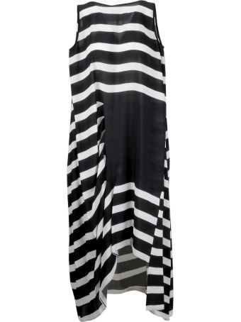 PierAntonioGaspari Horizontal Stripped Dress