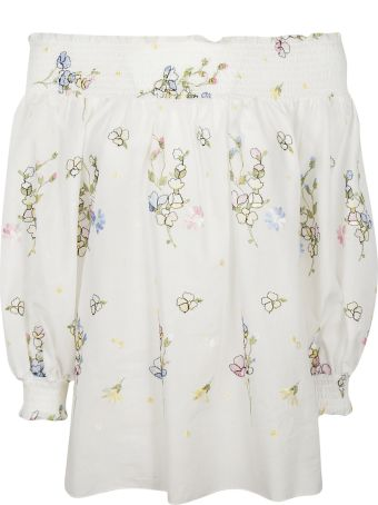 Blugirl Floral Embellished Blouse
