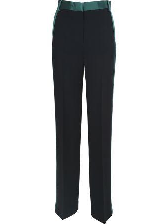 Victoria Victoria Beckham Stripe-detail Tuxedo Crepe Trousers