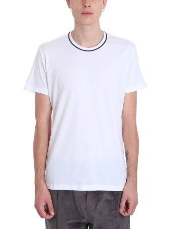 Low Brand White Cotton T-shirt