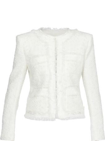 Balmain Jacket With Ceramic Pearls