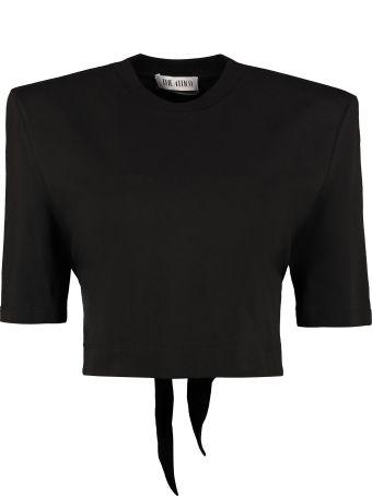 The Attico Cotton Crop T-shirt