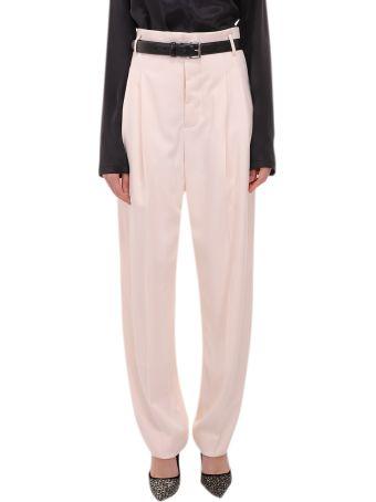 Haider Ackermann Cream Trousers