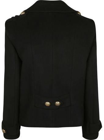 Balmain Embellished Double-breasted Blazer