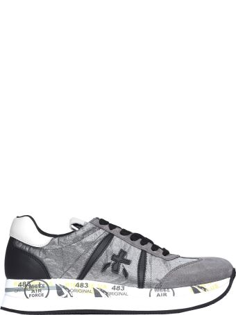 Premiata Conny 1493 Grey Sneakers