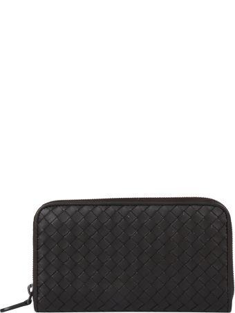 Bottega Veneta Nappa Crossbody Zip Wallet