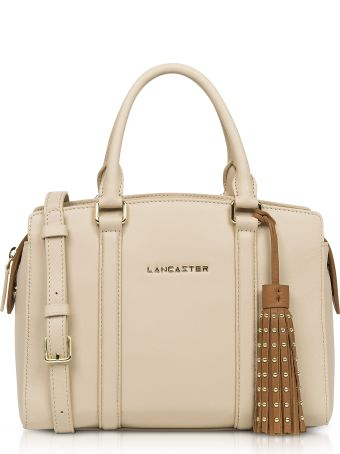 Lancaster Paris Ana & Annae Beige/terracotta Satchel Bag