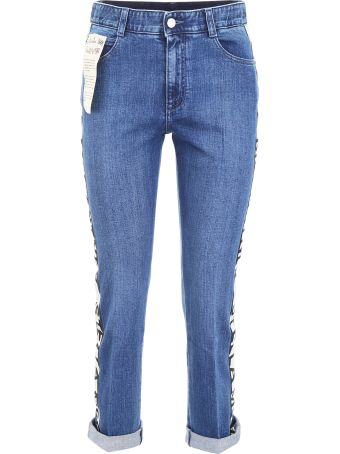 Stella McCartney Jeans With Logo Band