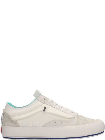 Vans Vault Suede And Technical Fabric Old Skool Cap White Sneakers