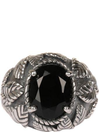 Ugo Cacciatori Romantic Leaves Silver Ring