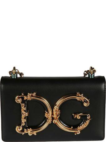 Dolce & Gabbana Dg Plaque Shoulder Bag
