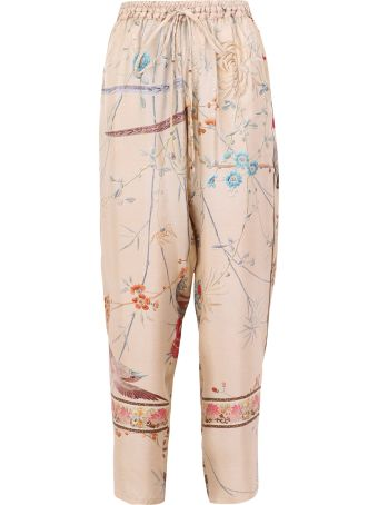 Pierre-Louis Mascia Printed Trousers