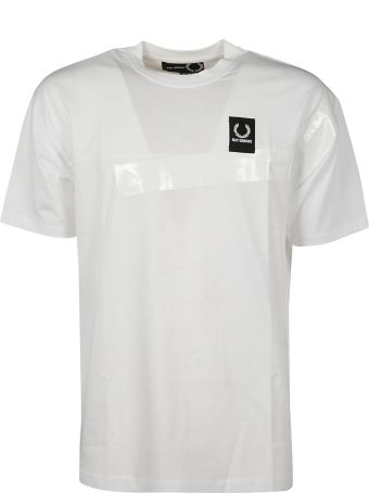 Fred Perry Raf Simons X Fred Perry Paneled Logo T-shirt