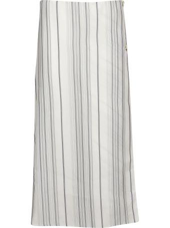 Jil Sander Glow Stripe Skirt