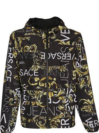 Versace Reversible Hooded Jacket