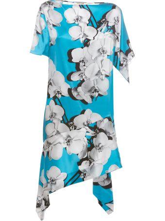 Roberto Cavalli Asymmetric Shift Dress