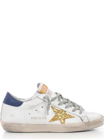 Golden Goose Deluxe Brand Glittered Sneakers