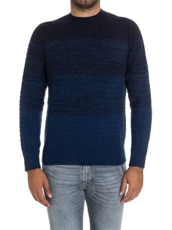 Drumohr Round Neck Wool And Cashmere
