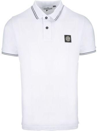 Stone Island Patch Polo Shirt