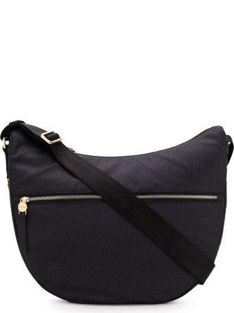 Borbonese Medium Luna Hobo Bag