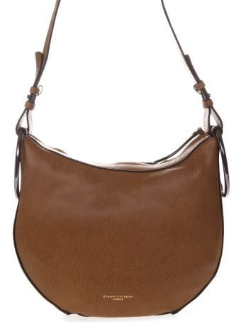 Gianni Chiarini Luggage Leather Shoulder Bag