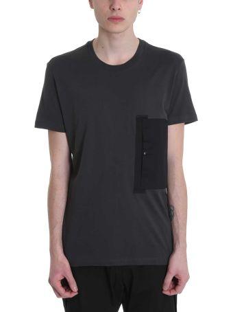 Low Brand Grey Cotton T-shirt