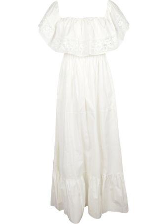 Blugirl Laced Detail Long Dress