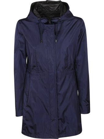 Fay Concealed Hooded Jacket