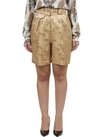 Etro Bamboo Print Shorts
