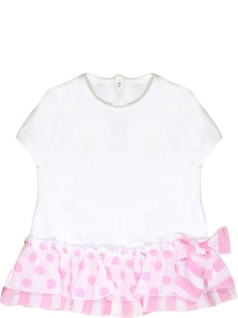 leBebé White Newborn T-shirt Le Bebè Junior