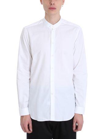 Alessandro Gherardi White Cotton Shirt