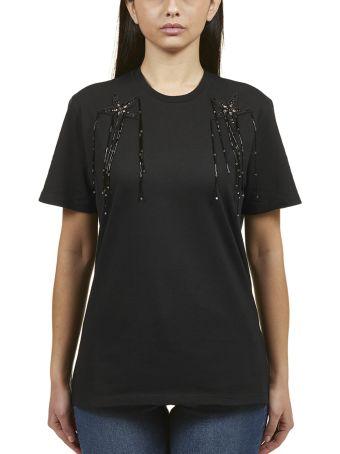 Amen Flower Applique T-shirt