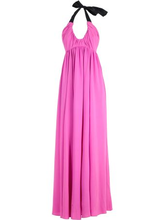 N.21 Tie Detail Maxi Dress