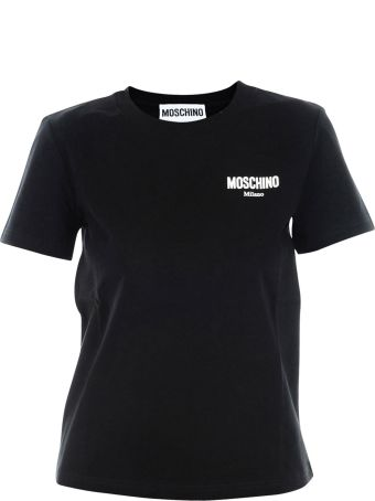 Moschino T-shirt With Rubberized Logo