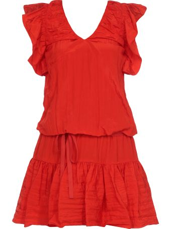 Victoria Victoria Beckham Ruffled Dress